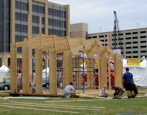 Des Moines Arts Fair Pavilion