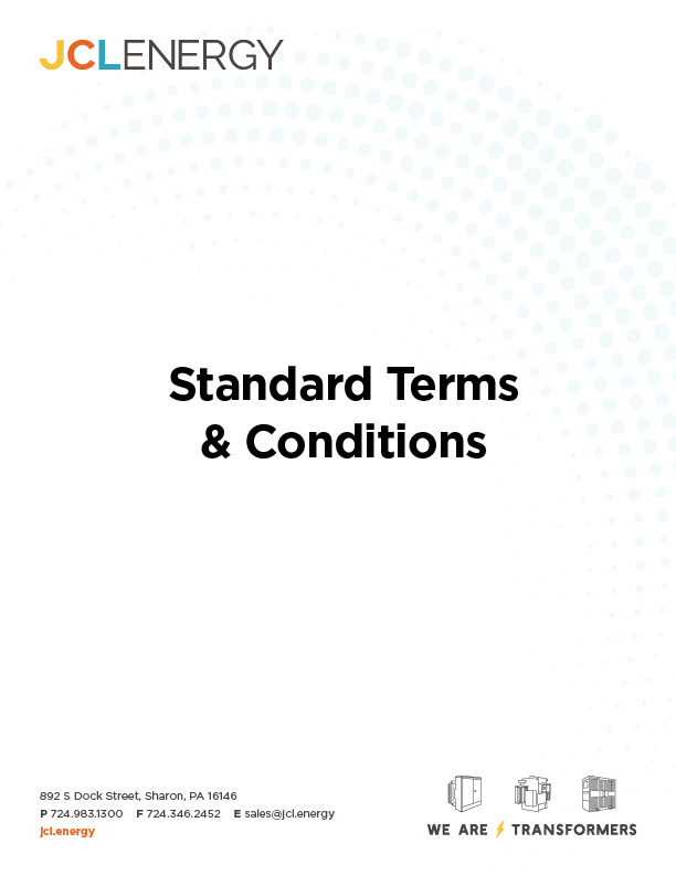 Standard Terms & Conditions