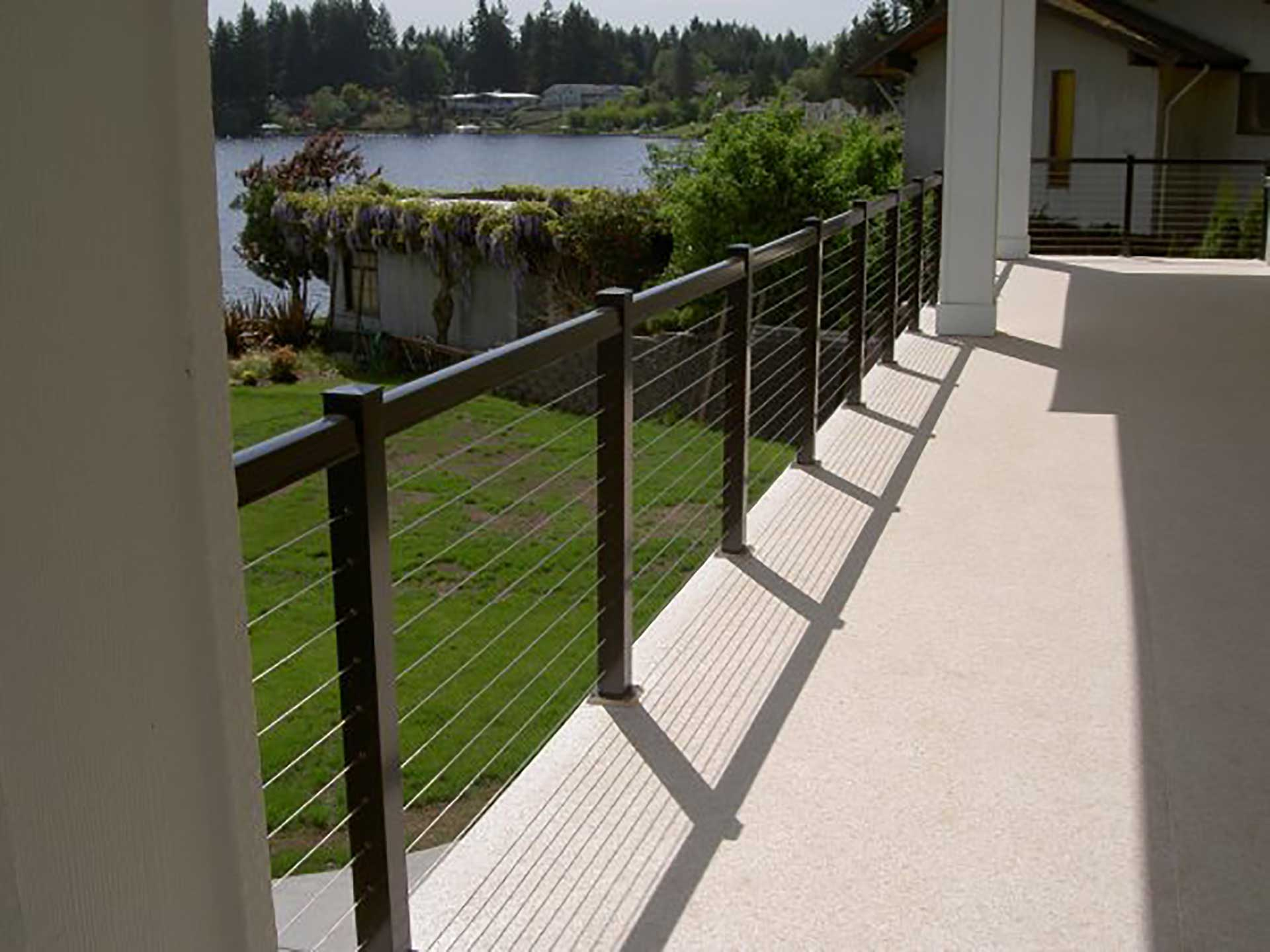Durarail Cable Railing System with Aluminum Posts
