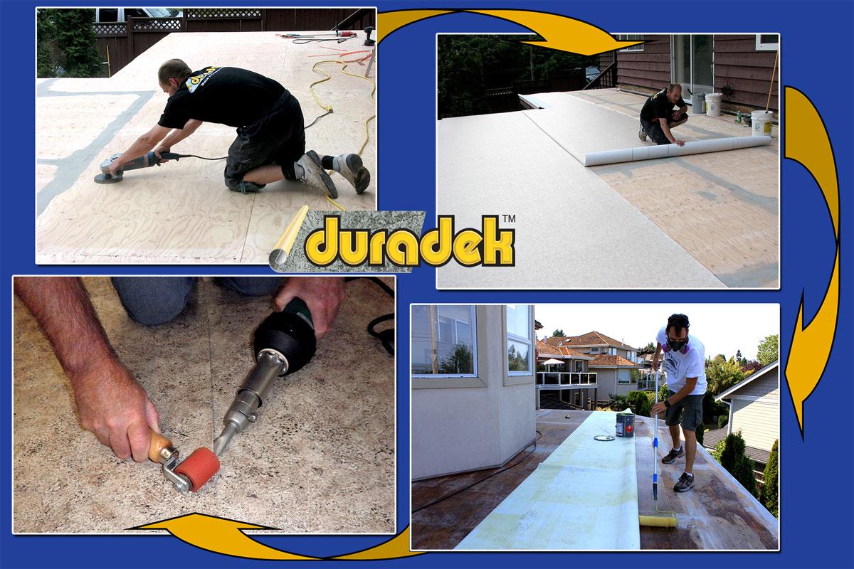 Duradek installation steps