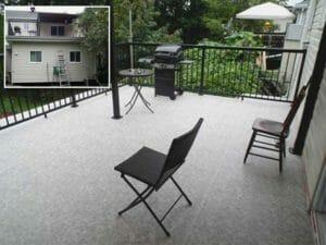 Customer Testimonial on Duradek deck for homeowner satisfaction