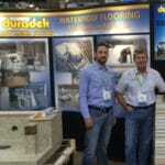 Representing Duradek at Deck Expo booth in 2015