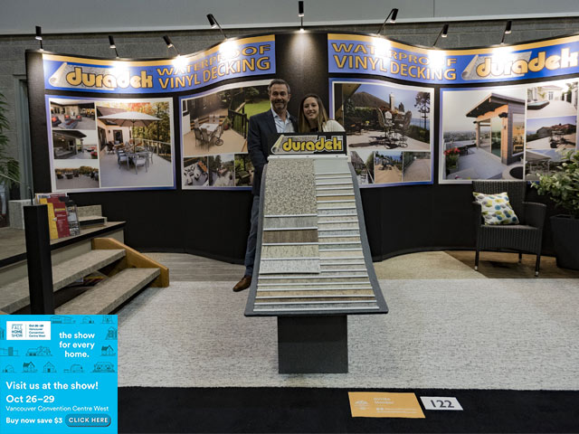 Vancouver Fall Home Show Deck Solutions From Duradek