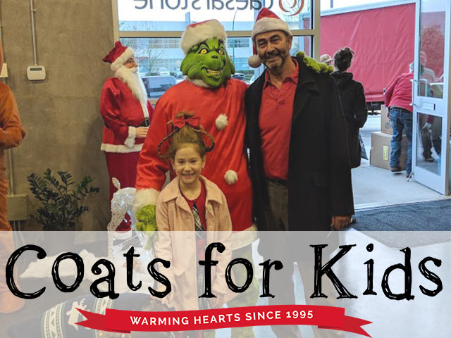 GVHBA Coats for Kids Wrap Up Party 2018