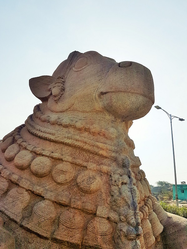 Places to visit in Lepakshi - Lepakshi Nandi