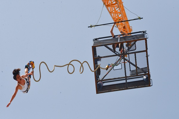 Best Bungee Jumping Locations in India - Gravity Zone Goa