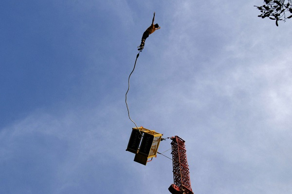 Best Bungee Jumping Locations in India - Ozone Adventure Bangalore