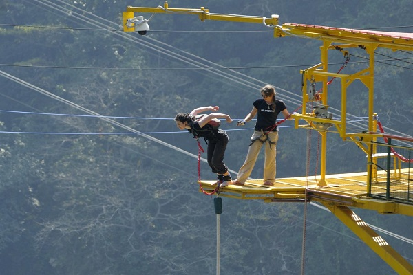 Best Bungee Jumping Locations in India - Rishikesh
