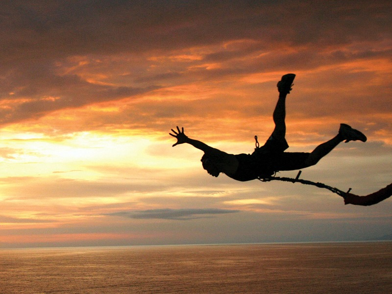 Best bungee jumping locations in India