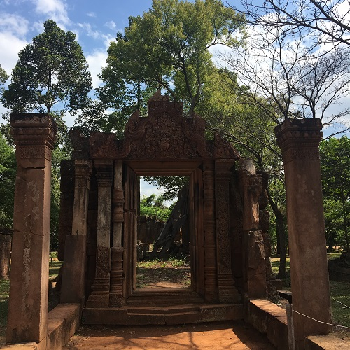 Amazing Cambodia and Thailand Trip - Banteay Srei Temple Siem Reap Cambodia