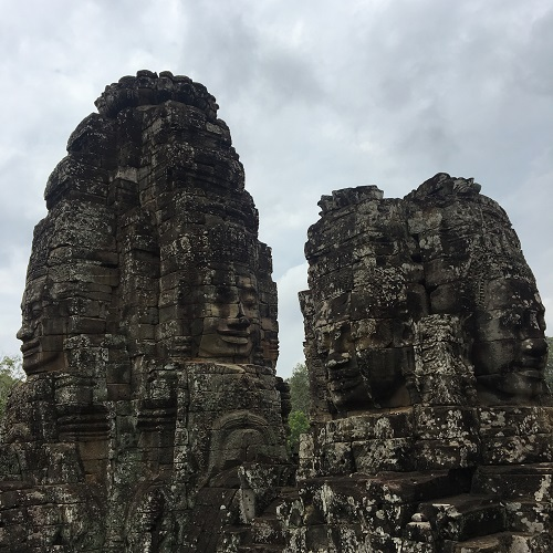 Amazing Cambodia and Thailand Trip - Bayon Temple Siem Reap Cambodia