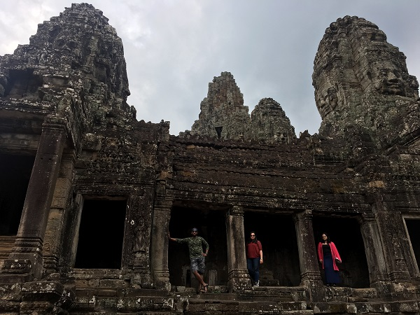 Amazing Cambodia and Thailand Trip - Bayon Temple in Siem Reap