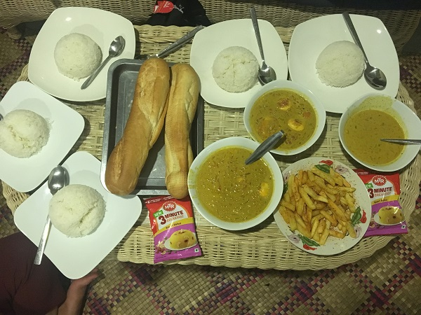 Amazing Cambodia and Thailand Trip - Dinner at Siem Reap