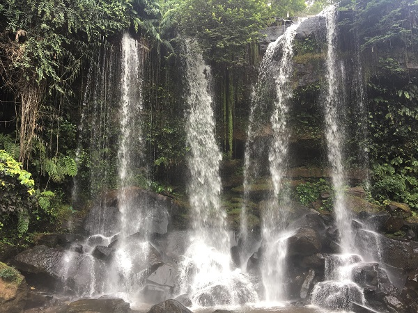 Amazing Cambodia and Thailand Trip - Large Waterfall