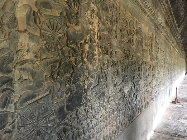 Amazing Cambodia and Thailand Trip - Pathway at Angkor Temple Siem Reap