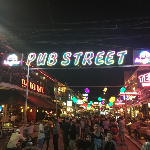 Amazing Cambodia and Thailand Trip - Pub Street in Siem Reap