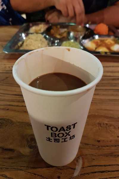Kopi from Toastbox Singapore - Journey to Batam Islands Indonesia