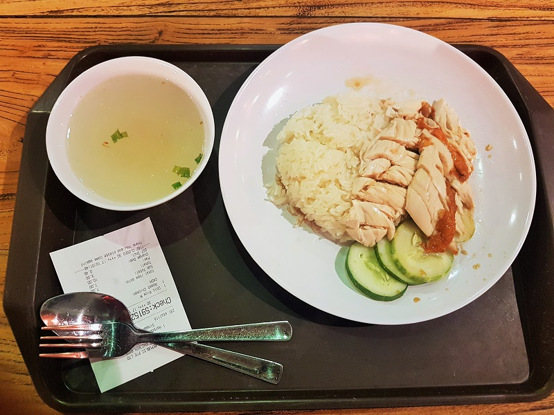 Chicken Rice Singapore - Journey to Batam Islands Indonesia
