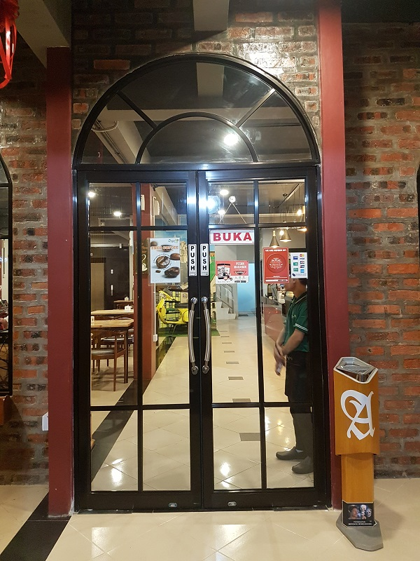 Entrance - Oregano Cafe & Bar Batam Islands Indonesia