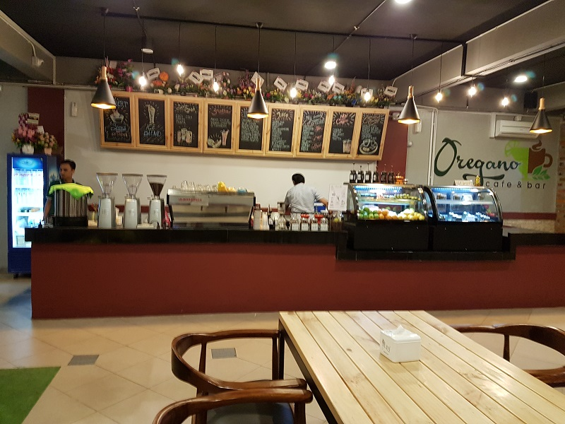 Reception - Oregano Cafe & Bar Batam Islands Indonesia