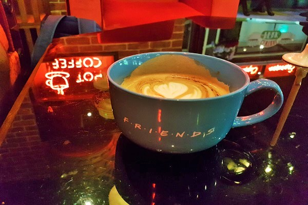 Coffee at Central Perk Singapore