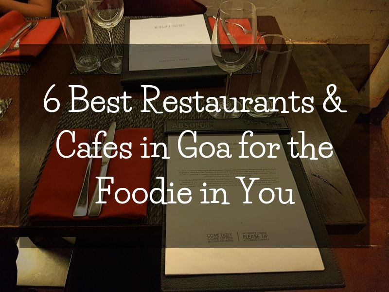 Restaurants And Cafes in Goa