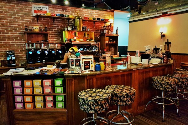 Coffee Counter - Central Perk Singapore
