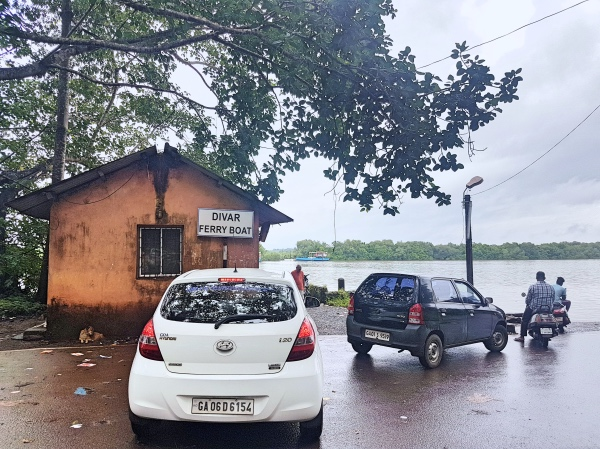 Divar Island Ferry Boarding Point - Divar Island Goa Guide