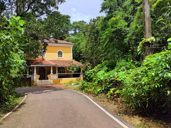 Beautiful Portuguese Styled Home on Divar Island - Divar Island Goa Tour Guide