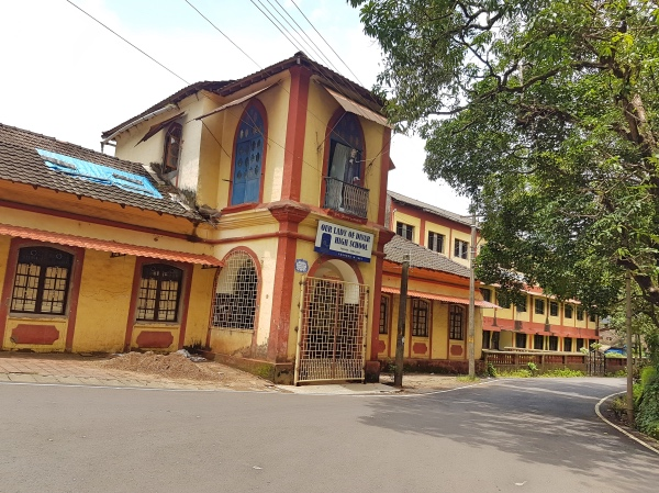 Our Lady of Divar High School - Divar Island Goa Tour Guide
