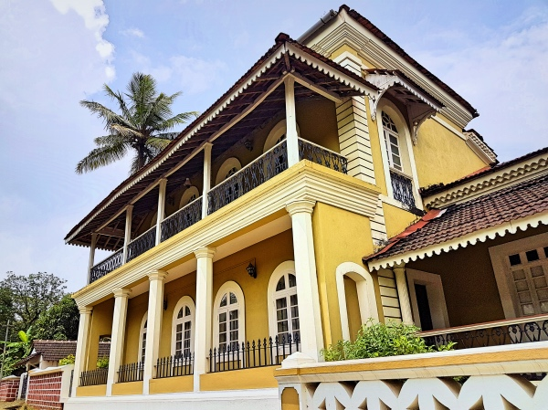 Portuguese Styled Home on Divar Island - Divar Island Goa Tour Guide