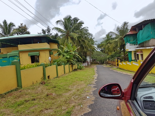 Roads at Divar Island - Divar Island Goa Tour Guide