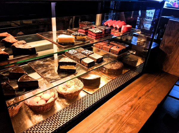 Bakery at Black Vanilla Cafe - Cafes in Goa