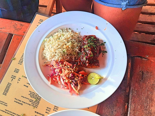 Grilled Chicken at Pousada by the Beach calangute - Cafes in Goa