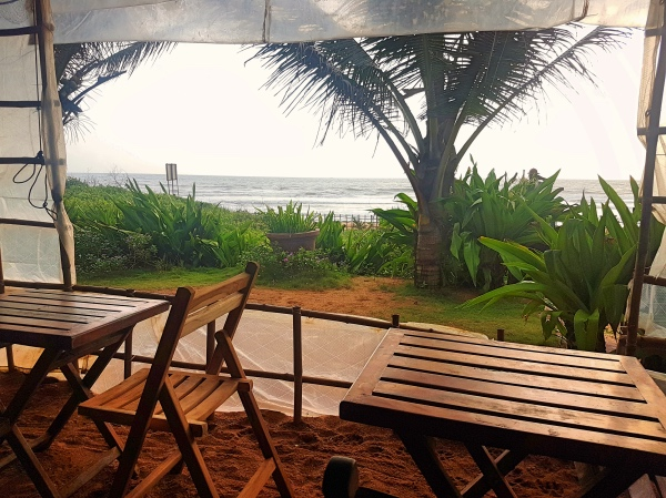 Interiors of Pousada by the Beach Calangute - Cafes in Goa