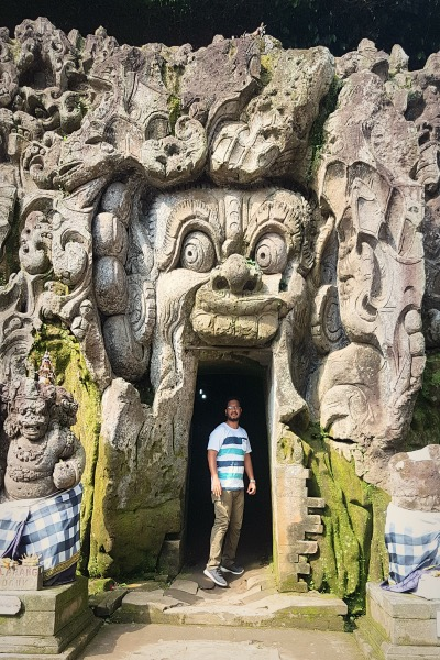Goa Gajah Cave Entrance - Detailed Ubud Travel Guide