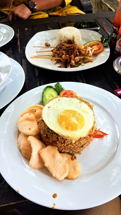 Nasi Goreng at Lovina Beach Bali