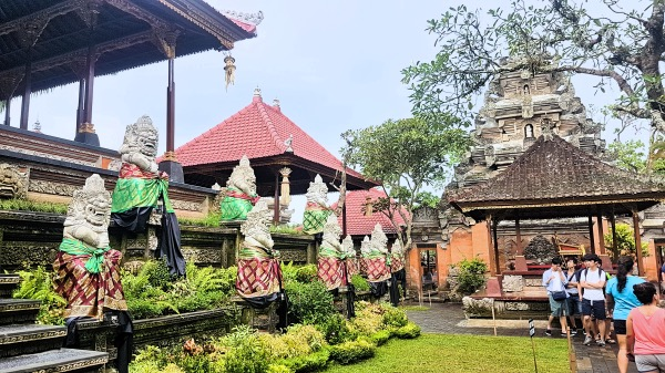 Ubud Royal Palace Architecture Area