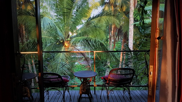 Firefly Eco Apartment Sitting Area Ubud - Places to stay in Ubud