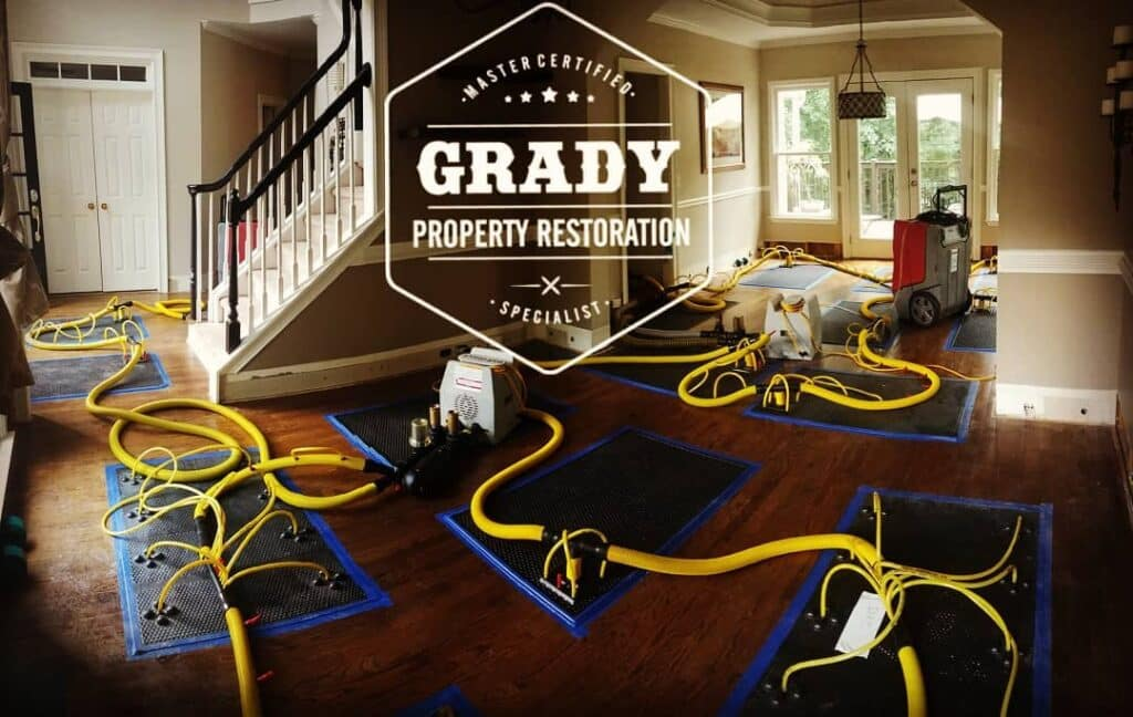 Grady Property Restoration   Water Damage, Fire Damage, Mold