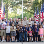 Flag Raising Pack 464 July 2017