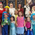 Bellevue's Order of Rainbow Girls Halloween party