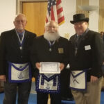 Brother Wes Agar was awarded the Daniel Carter Beard Masonic Scouter Award at Bellevue Lodge No. 325