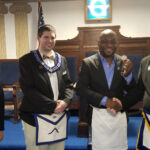 Master Mason Proficiency Coin Awarded