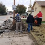 Sidewalk Work 2020