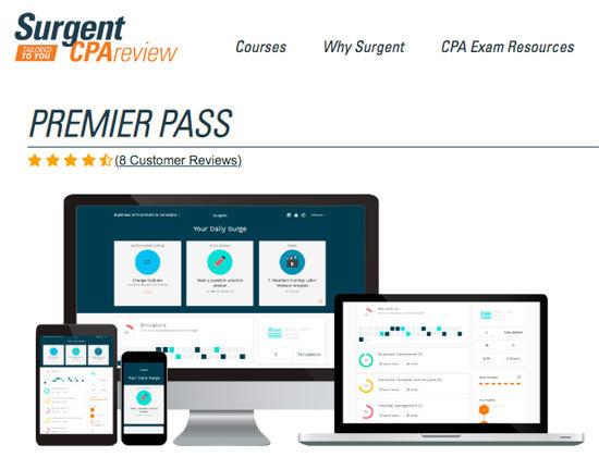 Picture of Surgent's Premier Pass course