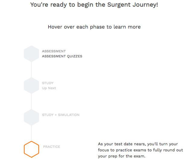 Surgent Study Plan Overview