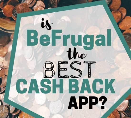 Earning Cashback with BeFrugal
