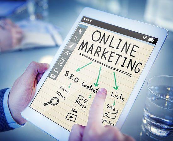 online marketing plan