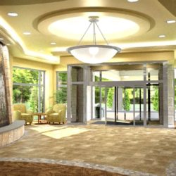 27002 Riverview Lobby entry